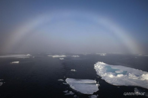 Arctic Sunrise Sea Ice Science Tour