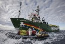 Russian Coastguard Threatens Arctic Sunrise With Force