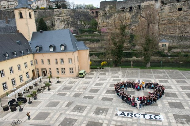 'I Love Arctic' Day of Action in Luxembourg