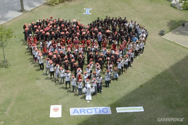 'I Love Arctic' Day of Action in Philippines