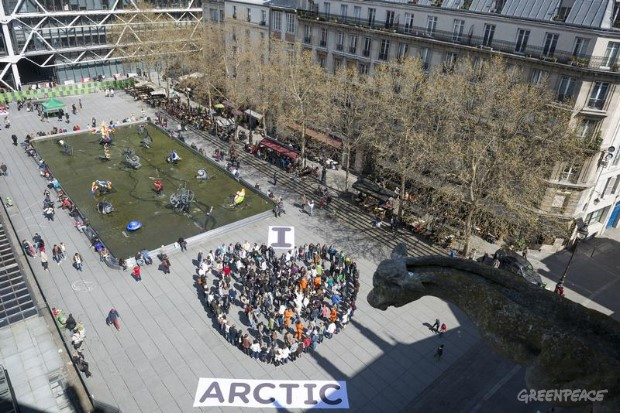 'I Love Arctic' Day of Action in France