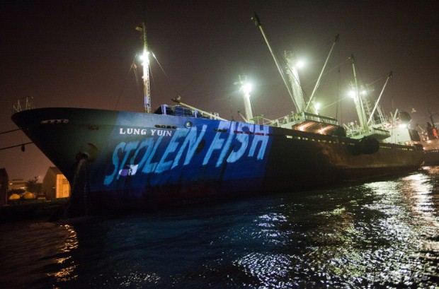 Exposed: Suspected illegal tuna carrier in Taiwanese port