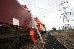 Greenpeace Activists Block And Unload Coal Train in the UK