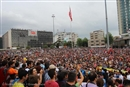 Gezi park: equal rights, justice, the environment and a better future