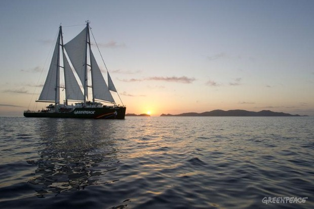 The Rainbow Warrior In New Zealand