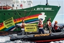 The Arctic Sunrise, her journey continues