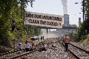 Activists Block Duke Coal Shipment, link Mountaintop Removal to iCloud