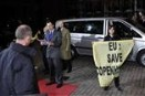 Greenpeace activists deliver climate message at the heart of EU summit