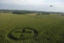 Greenpeace Crop Circle: 'X' marks the spot in French GE maize field