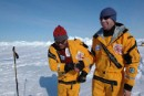 Explorers begin epic trek across melting Arctic