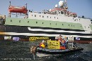 Greenpeace protests against EU subsidised plunder of West African Waters