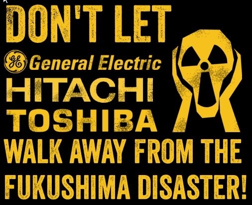 General Electric, Hitachi and Toshiba designed, built and serviced the reactors which directly contributed to the Fukushima nuclear disaster, yet these companies have not paid one cent of the cost for the reactor failures.
