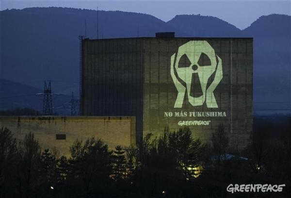 Anti-nuclear Projections in Spain