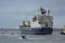Plutonium freighter departs UK for Japan