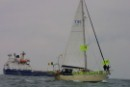 Plutonium ships sail through Irish Sea protest Flotilla