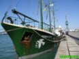 The Rainbow Warrior is in Cadiz in the southwestern