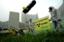 Greenpeace protests against Atomic Agency's promotion of nuclear proliferation