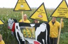 Greenpeace action against GE animal feed