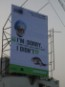 A hoarding in Kolkata put up by Greenpeace