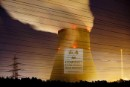 Projection on Emsland Nuclear Plant