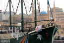 Rainbow Warrior completes joint mission with MSF to transport humanitarian supplies to Lebanon