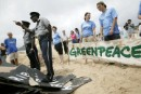 Peaceful Greenpeace whaling protest stopped abruptly in St Kitts