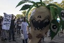 GMO Monster Crops Protest in Philippines