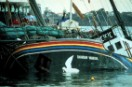 Aftermath of the bombing of the Rainbow Warrior
