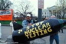 Nuclear testing is not a path to security and peace