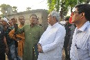 Nitish Kumar visits Dharnai, a village electrified by decentralised solar microgrid in Bihar