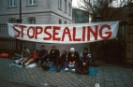 Sit-in against Seal Hunting