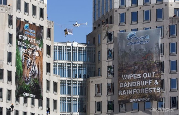 Procter & Gamble HQ Banner in Ohio