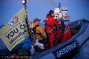Greenpeace Nordic intercepts Shell icebreaker to thwart Arctic drilling