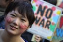 Forty thousand take to Tokyo streets to say 'no' to war