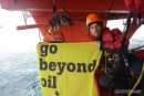 Climbers occupy Cairn Energy oil rig in the Arctic