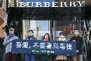 Detox Burberry Protests, Worldwide