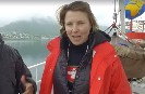 Actress Lucy Lawless sets off in Greenpeace ship to confront Arctic oil drillers