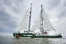 New Rainbow Warrior to make first ever visit to New Zealand in January
