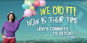 We did it - Levi's commits to Detox!