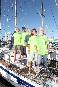 Greenpeace members take on the Cape-To-Rio yacht race