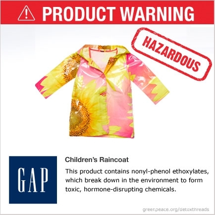 GAP Hazardous Children's Raincoat