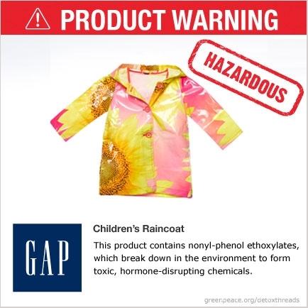 GAP Hazardous Children's Raincoat