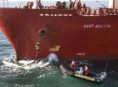 Palm Kernel Ship Blockade