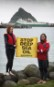 Greenpeace activists confront deep sea oil exploration ship