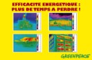 Les thermographies illustrent le gaspillage