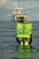 Greenpeace activists board EU trawler on third day of high seas action