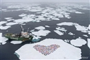 Finding heart in the melting Arctic
