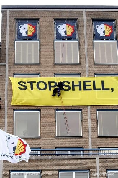 "Company ""Takeover"" at Shell HQ"