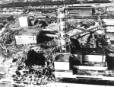The destroyed Chernobyl nuclear power station