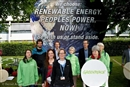 We want Renewable energy for all. Stand with us or step aside.